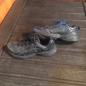 All Black Nike Sneakers US 6.5 Like New Condition